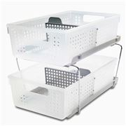 Made Smart - Two Level Storage Baskets w/ Dividers