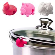Tovolo - Farm Animal Silicone Lid Lifters Set 3pce
