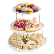 Fozzils - Twistfold Three Tier Party Plates