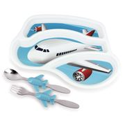Urban Trend - Me Time Meal Set Jet Plane 3pce
