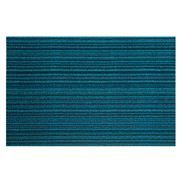 Chilewich - Indoor/Outdoor Skinny Stripe Small Turquoise Mat