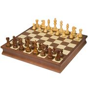 Italfama - Wooden Chess Board Set 47x47cm