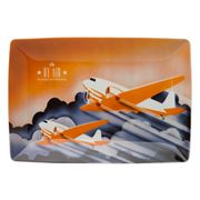 Vista Alegre - Transcontinental By Air Rectangular Plate