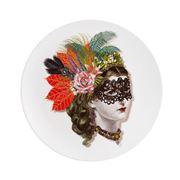 Christian Lacroix - LWYW Mamzelle Scarlet Dessert Plate