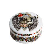 Christian Lacroix - LWYW Moneigneur Bull Small Round Box