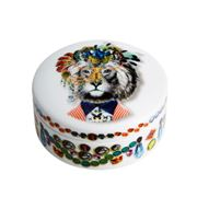Christian Lacroix - LWYW Jungle King Small Round Box