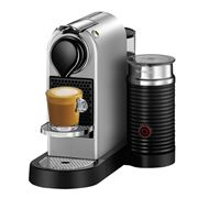 Breville - Nespresso CitiZ & Milk Silver Coffee Machine