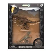 CollectA - Dinosaur Wonders T-Rex & Velociraptor Set
