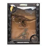CollectA - Dinosaur Wonders T-Rex & Velociraptor Set