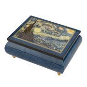 Ercolano - Starry Night Musical Jewellery Box