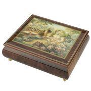 Ercolano - Lisa's Garden Musical Jewellery Box