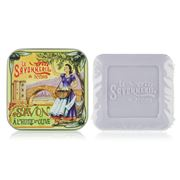 La Savonnerie De Nyons - Roman Bridge Lavender Tin Soap 100g