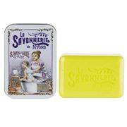 La Savonnerie De Nyons - The Bath Tinned Verbena Soap 200g