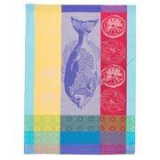 Garnier-Thiebaut - Plancha Tea Towel Turquoise