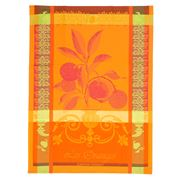 Garnier-Thiebaut - Torchon Les Orange Tea Towel Sanguine