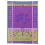 Garnier-Thiebaut - Myrtilles Violet Tea Towel