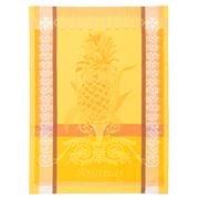 Garnier-Thiebaut - L'Ananas Jaune Tea Towel