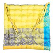 Garnier-Thiebaut - Mille Patios Majorelle Chair Cushion