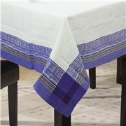 Garnier-Thiebaut - Pantheon Cobalt Tablecloth 172x362cm