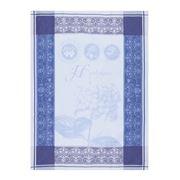 Garnier-Thiebaut - Torchon Hortensia Bleu Tea Towel
