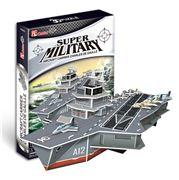Cubicfun - Charles de Gaulle Aircraft Carrier 3D Puzzle