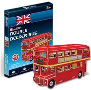 Cubicfun - Double Decker Bus 3D Puzzle
