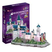 Cubicfun - Neuschwanstein Castle 3D Puzzle w/ LED Lighting
