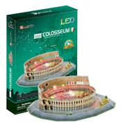 Cubicfun - Colosseum 3D Architecture Puzzle w/ LED Lighting