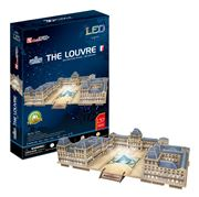 Cubicfun - The Louvre 3D Architecture Puzzle w/ LED Lighting