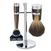Gentleman London - Davies Horn Razor & Shaving Brush Stand