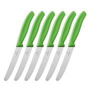 Victorinox - Cutlery Steak Knife Set Green 6pce