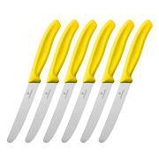 Victorinox - Cutlery Steak Knife Set Yellow 6pce