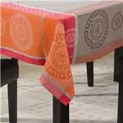 L'Ensoleillade - Valdrome Red Coated Tablecloth 160x160cm