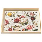 Whitelaw & Moss - Roses On Cream Large Tray