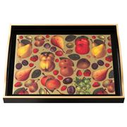 Whitelaw & Newton - Fruit On Black Large Tray