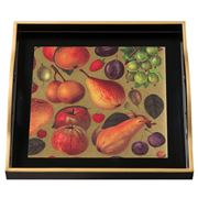 Whitelaw & Newton - Fruit On Black Small Tray