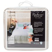 Bambi - Natures Touch Queen Jasper Linen Coverlet