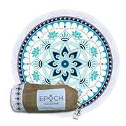 Epoch Collective - Aquatic Lotus Round Beach Towel