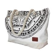 Epoch Collective - Mayan Eye Canvas Beach Tote Bag