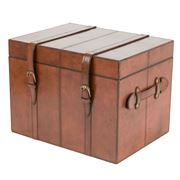 Rossini Leather - Small Storage Trunk