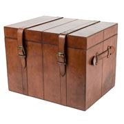 Rossini Leather - Medium Storage Trunk