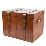 Rossini Leather -  Storage Trunk Large