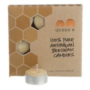 Queen B - Tealights Candle Set 4-5hrs/9pce