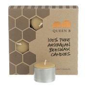 Queen B - Tealight Candles 8-9hrs 9 pack
