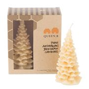 Queen B - Christmas Trees Candle Set 2pce