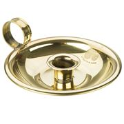 Queen B - Wee Willie Winkie Brass Candle Holder