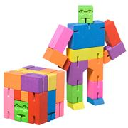 Cubebot - Small Cubebot Multicoloured