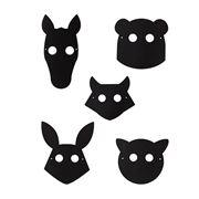 Doiy - Chalkboard Mask Kit 10pce