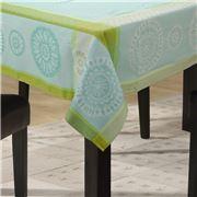 L'Ensoleillade - Valdrome Aqua Coated Tablecloth 250x160cm