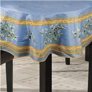L'Ensoleillade - Clos des Oliviers Blue Rnd Tablecloth 180cm